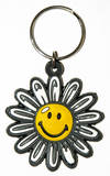 Smiley World - Daisy Rubber Keychain Keychain