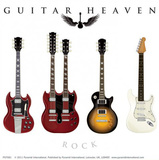 Guitar Heaven - Classic Vinyl Sticker Stickers