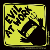 David & Goliath Monster Mash - Evil At Work Vinyl Sticker Stickers