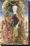 Allegorical Figure Stretched Canvas Print by Cosimo Tura