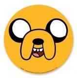 Adventure Time - Jake Face Vinyl Sticker Stickers