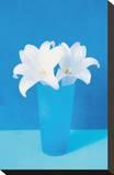 Vase With Flowers (Lilies) Impressão em tela esticada
