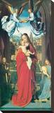 Virgin and Child With Four Angels, ca. 1505 Stretched Canvas Print by Gerard David
