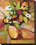 Vivid Still Life III Stretched Canvas Print by Warren Cullar