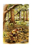 Illustration of Segnosaurus Posters
