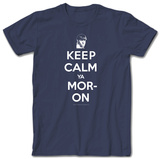 3 Stooges - Keep Calm Moe T-shirts