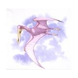 Illustration Representing Pterodaustro Flying Art