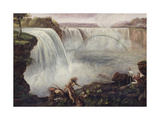 Niagara Falls, 19th Century. Artist Unidentified Lámina giclée