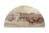 Frink and Walker's Stage Coach Office, 1850 by Lawrence Carmichael Earle, 1845-1921 Giclee Print