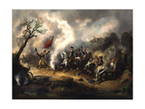 Battle of Monmouth, June 28, 1778. Artist Unidentified Giclee Print