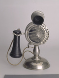Strowger Dial Phone 1901. Created by Automatic Electric Co. Photographic Print