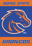 NCAA Boise State Broncos 2 Sided Banner with Pole Sleeve Flag