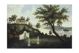 Mount Vernon, Home of George Washington on the Potomac River, 1860. Artist Unidentified Giclee Print