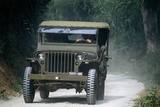 Meeting of Military Vehicles, Willys MB 8 Jeep, 1941 Photographic Print