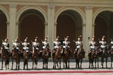 Soldiers on Horseback at Cuirassiers Gala Photographic Print