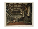 Illustration from William Henry Pyne 's History of the Royal Residences, Windsor Castle Giclee Print