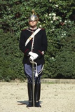 Cuirassier Standing in Uniform Photographic Print
