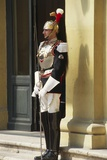 Soldier Guarding Doorway at Cuirassiers Gala Photographic Print