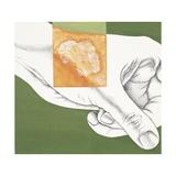 Hand Wart, Drawing Giclee Print