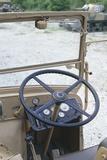 Steering Wheel of Italian SPA TM40 Tractor, 1940 Fotografie-Druck