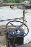 Steering Wheel of Italian SPA TM40 Tractor, 1940 Photographic Print