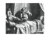 Doctor So Much the Better and Doctor So Much the Worse by Jean-Baptiste Oudry Giclee Print