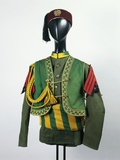 20th Century Italian Colonial Military Police Uniform, 1935 Photographic Print
