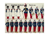 Franco-Prussian War, French Infantry Giclee Print
