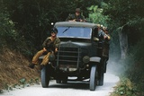 Meeting of Military Vehicles, Autocarretta OM 35 Photographic Print