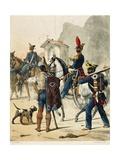 Italy, Neapolitan Artillery, 1820 Giclee Print