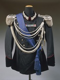Black Gala Jacket of General of Division of Italian Army, 1934 Photographic Print