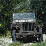 US Military Police Willys MB Jeep, 1942 Photographic Print