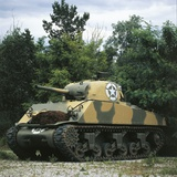 US M4 Sherman Medium Tank,1943 Photographic Print