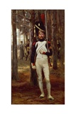 Foot Grenadier of the Imperial Guard, by Edouard Detaille Giclee Print