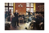 Charcot Lectures at La Salpetriere by Pierre-Andre Brouillet (1857-1914) Giclee Print