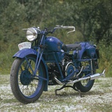 Moto Guzzi Alce PAI Motorcycle, 1942 Photographic Print