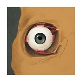 Illustration of Human Eye Giclee Print