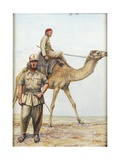 Libyan Military Police Officers, 1942 Giclee Print