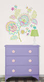 Delila Wall Art Decal Kit Wall Decal