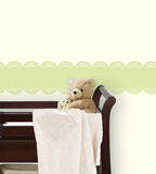 Peapod Green Stripe Wall Decal Sticker Wall Decal