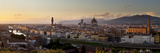 A Panoramic View of Florence at Twilight Fotografisk tryk af Stephen Alvarez