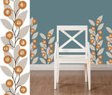Zoe Stripe Wall Decal Sticker Wall Decal