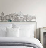 Globe Trotter Small Wall Art Decal Kit Vinilo decorativo