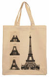 Eiffel Tower Under Construction Tote Tote Bag