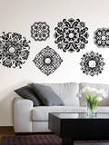 Baroque Wall Art Kit Wall Decal