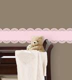 Gigi Pink Stripe Wall Decal Sticker Wall Decal