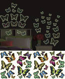 Butterflies Wall Decal Sticker Appliques Wall Decal