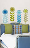 Flower Garland Wall Art Kit Wall Decal