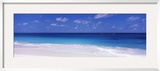Waves on the Beach, Shoal Bay Beach, Anguilla Framed Photographic Print by  Panoramic Images