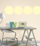 Buttercup Yellow Dot Wall Decal Sticker Wall Decal
